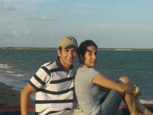 Con mi hermano Stuar Josue