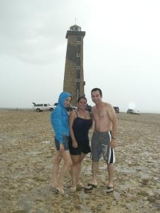 Con mi niña Vero y mi hermano Stuar Josué